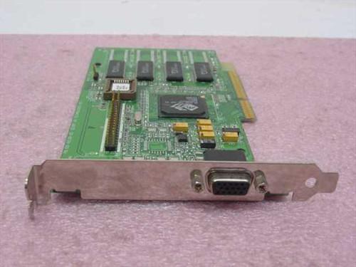 ATI 109-46200-00 AGP Video Graphics Card 3D Rage Pro 6MB