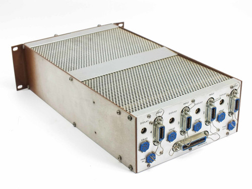 MKS 260MF-1SPPC Modular Flow Controller Main Frame with 2 Type 261 Displays