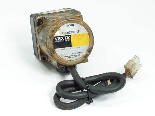 Oriental Motor VEXTA 20W DC Brushless Motor w/ GF2G10 20:1 Gear Head FBLM220C-GF