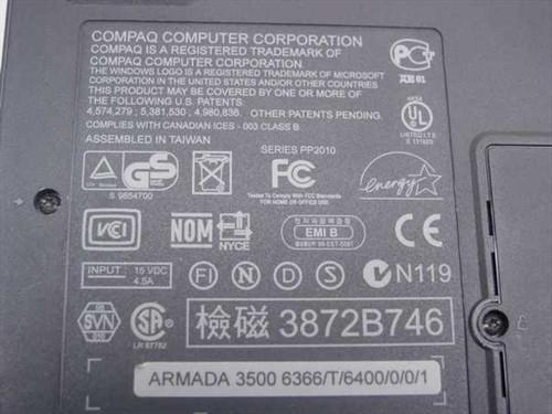 Compaq Armada 3500 PII266 Laptop 32MB RAM 6.1GB HDD - No AC Adapter - As Is