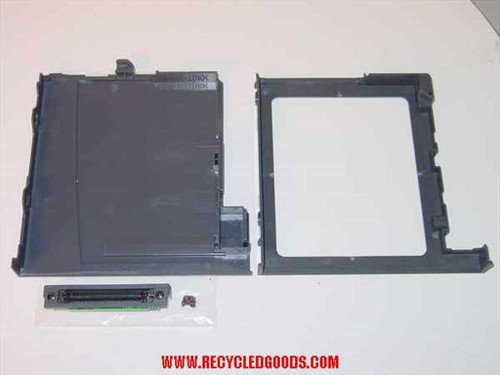 Toshiba PT810U-11953 Tecra CD-ROM Cradle/Port Adapter Caddy with Screws - AS IS