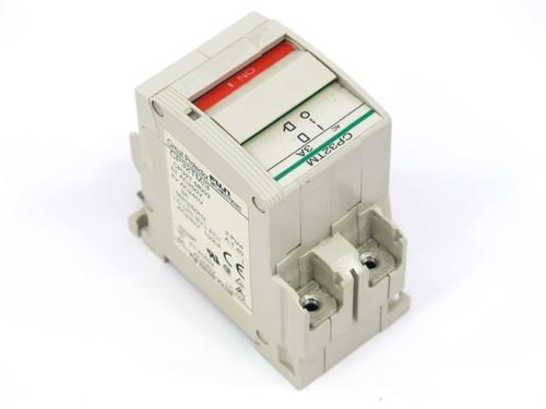 Fuji Electric CP32TMCircuit Protector / Breaker 3 Amp 2-Pole CP32T-M003 CP32TM/3