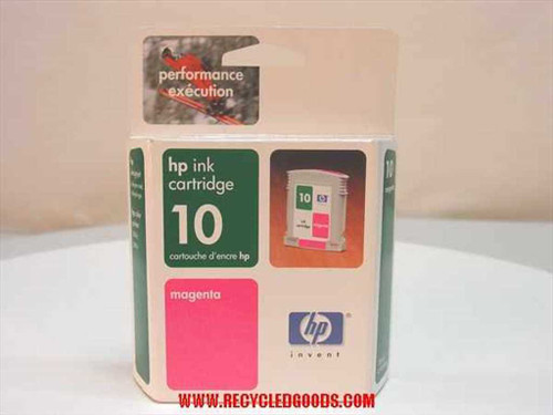 HP HP ink cartridge 10 magenta (C4843A) - AS IS
