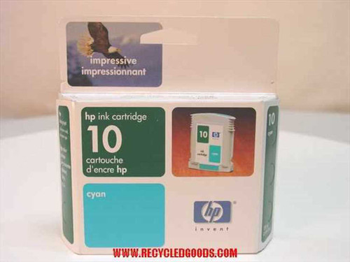 HP HP ink cartridge 10 cyan (C4841A) - AS IS