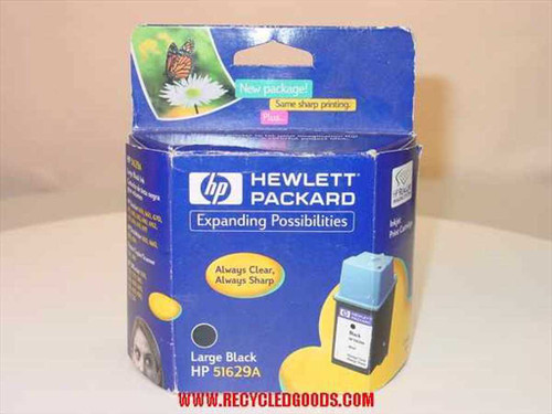 HP 51629A Inkjet Print Cartridge Large Black - Expired