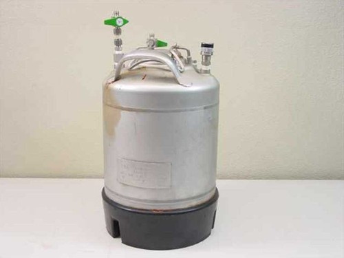 UM Alloy Products Corporation 9 L Stainless Pressurized Tank Liquid Vessel