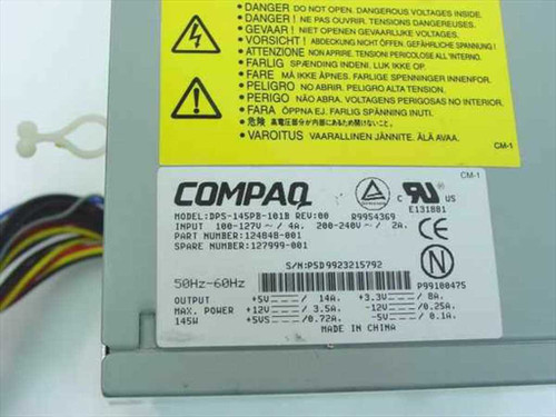 Compaq 145 W ATX Power Supply compatible w/Compaq Presario (127999-001)