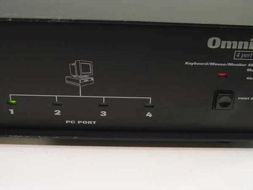 Belkin F1D066 Omni View 4-Port KVM Switch - PS/2 AT Serial - NO POWER SUPPLY
