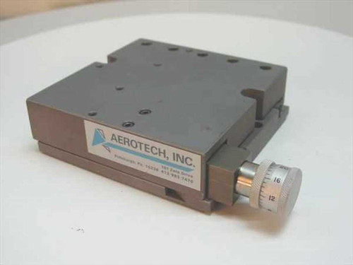 Aerotech ATS 301 Manual Positioner / Linear Micrometer Table - As-Is