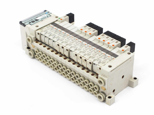 SMC Serial Interface Unit with Manifold & Various Solenoid Valves