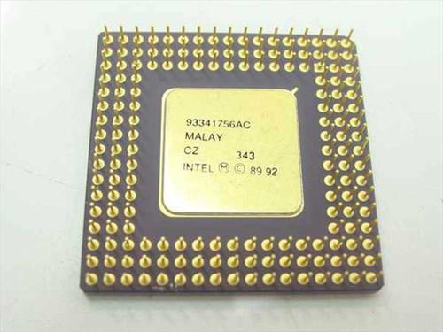 Intel i486/25MHz SX CPU A80486SX-25 (SX790)