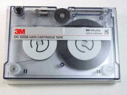 3M DC 600A Data Cartridge Tape 60MB DC600A USED - UNTESTED