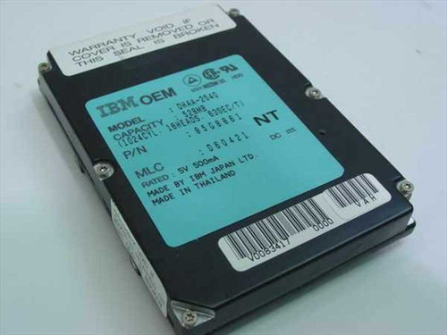 IBM 528MB Laptop Hard Drive 85G8861