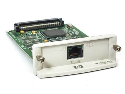 HP J6057-60002 JetDirect 615N - 10/100TX Printer Networking Card J6057a