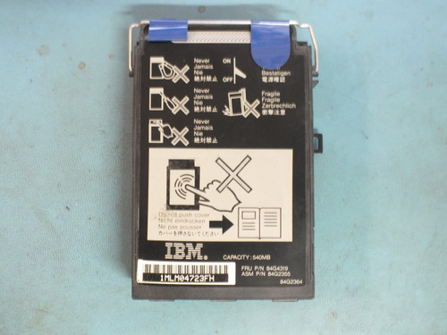 IBM 84G4319 Hard Drive Caddy for 9545 ThinkPad Laptop Computer - No Drive Inside