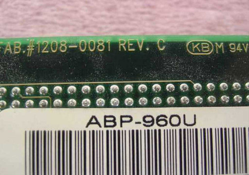 Advanced Systems ABP-960U PCI SCSI Controller Card 50-Pin Internal / 68-Pin Ext