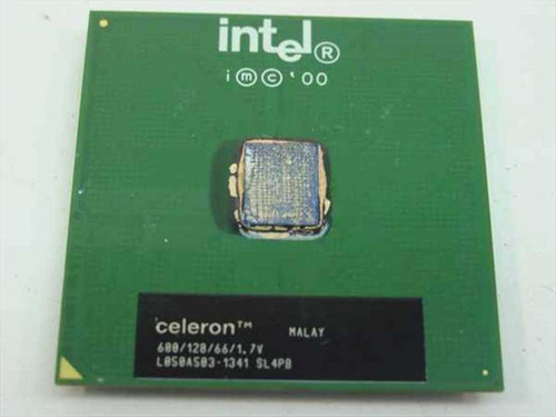 Intel PIII Celeron Processor 600/128/66/1.7V (SL4P8)