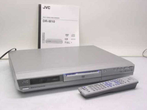 JVC DR-M10S  DVD Video Recorder - As IS for Parts