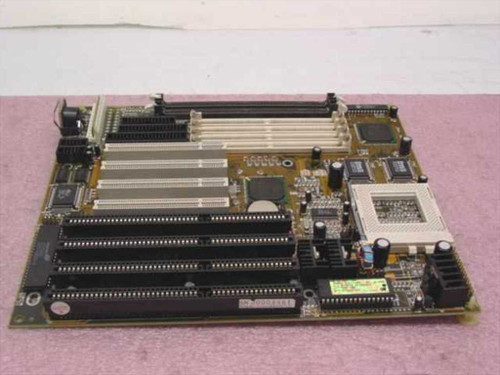Generic CH5T Socket 7 System Board with 4x 16-Bit ISA and 4x PCI Slots - TESTED