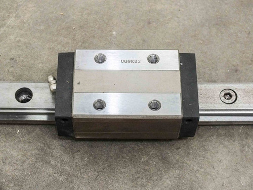 "Generic UG9K83 64.5"" Linear Slide Actuator with Pillow Box Stages - 5.4 Foot"