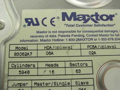 """Maxtor 3GB 3.5"""" IDE Hard Drive 83062A7"""