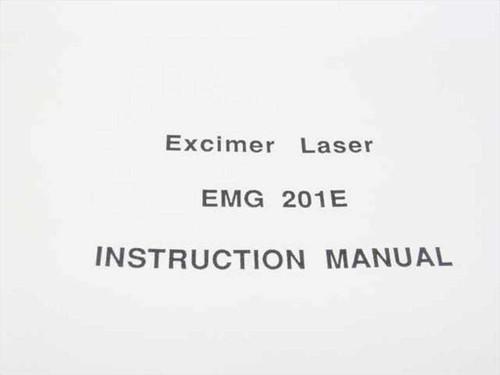 Lambda Physik EMG 201E  Excimer Laser Instruction Manual