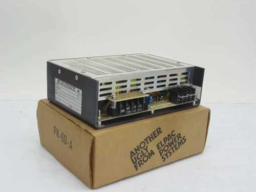 Elpac ES-100-24 24 Volt DC 4 Amp Power Supply - Input 115/230 Volt AC