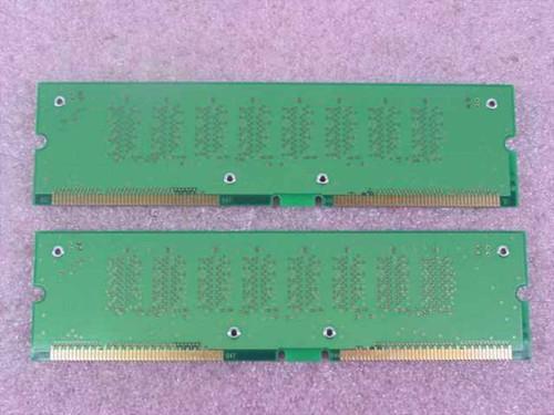 NEC MC-4R256FKE8D-845  256MB Rambus 184-pin PC800-45ns 8-device ECC RDRA