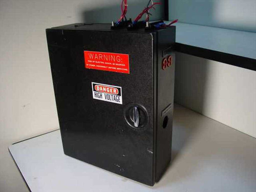 Steel Enclosure with Breaker Switches Relays and Outlets (Breaker Box)