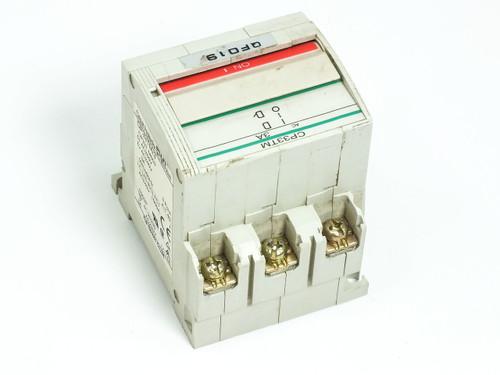 Fuji Electric Circuit Protector / Breaker 20 Amp 3-Pole CP33T-M020 CP33TM/20