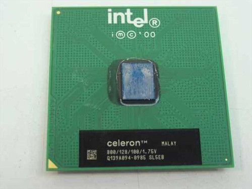Intel SL5EB 800MHz PIII Celeron Processor 800/128/100/1.75V PGA370 CPU