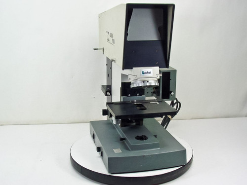 Nachet NS400 Self-Projecting Microscope - Broken Glass / No Objectives - As Is