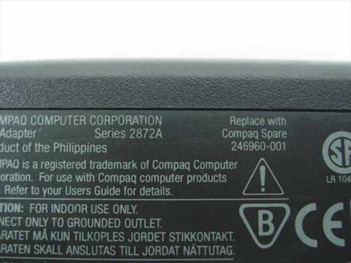 Compaq Armada 246960-001 4000 Series AC Adapter 18.75V 3.15A Barrel Plug