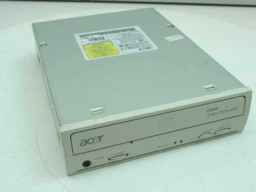Acer 2410A-002 CD-RW IDE Internal 24x10x40