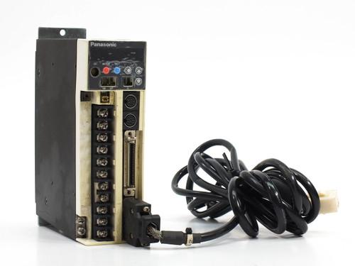 Panasonic MSDA023D1A AC Servo Driver - 208~230 VAC 3-Phase - Output 92V 0-333 Hz