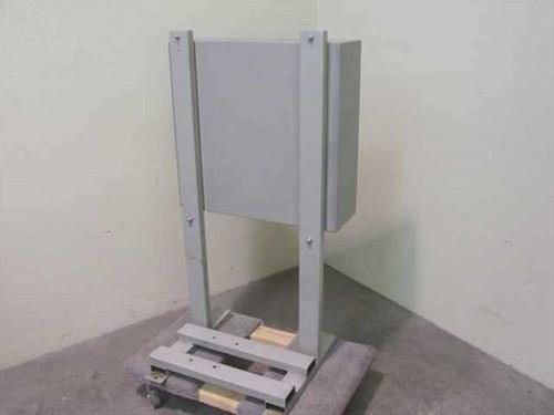 Leybold-Heraeus Breaker Box Enclosure w/ Fuses, Motor Contactors & Transformers