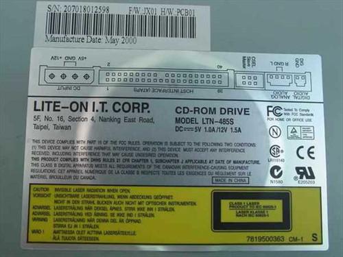 Lite-On LTN-485S 48x CD-ROM Drive IDE Internal - DARK GREY BEZEL - HP 5185-1736