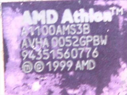 AMD A1100AMS3B  1.1GHz Processor Athlon 1100 CPU