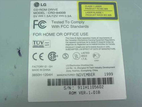 LG 40x IDE Internal CD-ROM Drive - Gateway 5501200 (CRD-8400B)