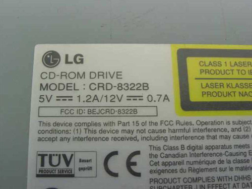 LG 32x IDE Internal CD-ROM Drive (CRD-8322B)