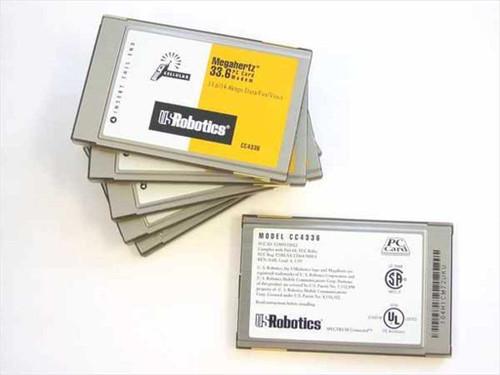 US Robotics 33.6 (NO CABLE) PCMCIA Card MODEM (CC4336)