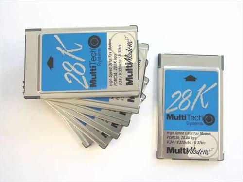 MultiTech PCMCIA Type II PCMCIA Card - No Dongle MT2834LT