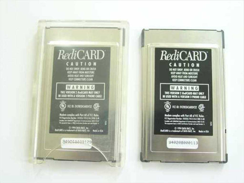 Data Race  Version 2 RediCARD PCMCIA Redi Card