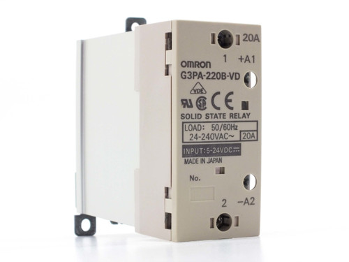 Omron G3PA-220B Solid State Relay 5-24 VDC 20 Amp