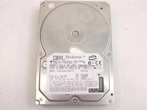 "IBM 40GB 3.5"" IDE Hard Drive 19K1568"