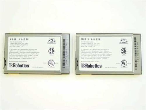 US Robotics PC-CARD 33.6 Modem XJack Connector (XJ4336)