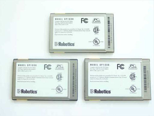 US Robotics  Card Modem 33.6 kbpa Data 14.4 Kbps Fax  SP1336