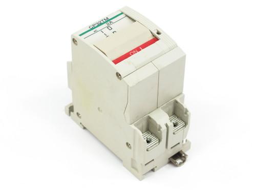 Fuji Electric Circuit Protector / Breaker 2 Amp 2-Pole CP32T-M002 (CP32TM/2)