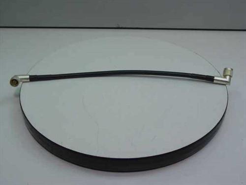 """Andrew 19 1/5"""" Cable w/ M-M Right Angle Crimp Coax Connec (Black)"""