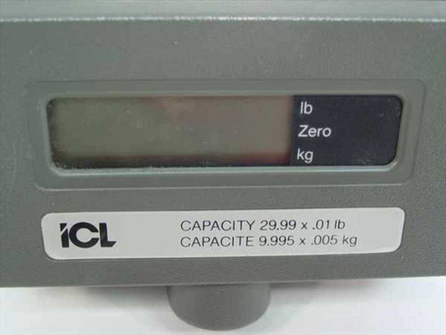 ICL 310RD Scale Display for IBM 4683 POS Cash Drawer - Vintage - As Is